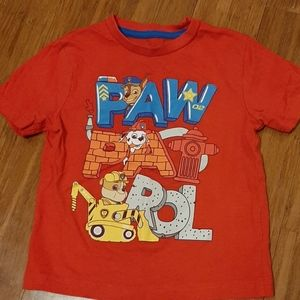 4/$20 Red Paw Patrol T-shirt